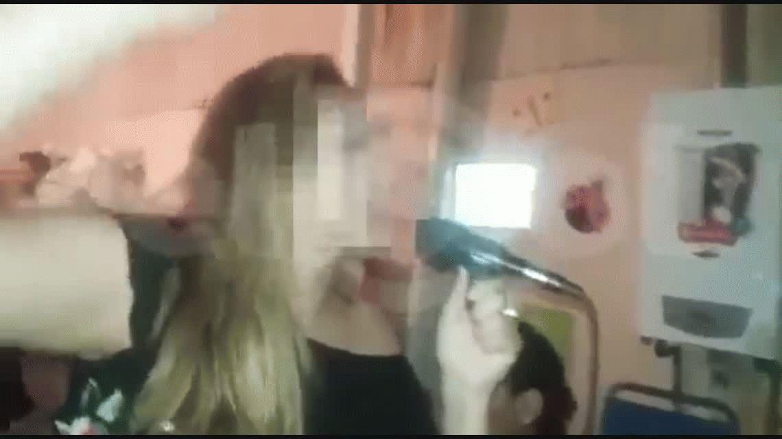 Triple crimen en Mendoza: un video muestra al homicida festejando antes de la masacre