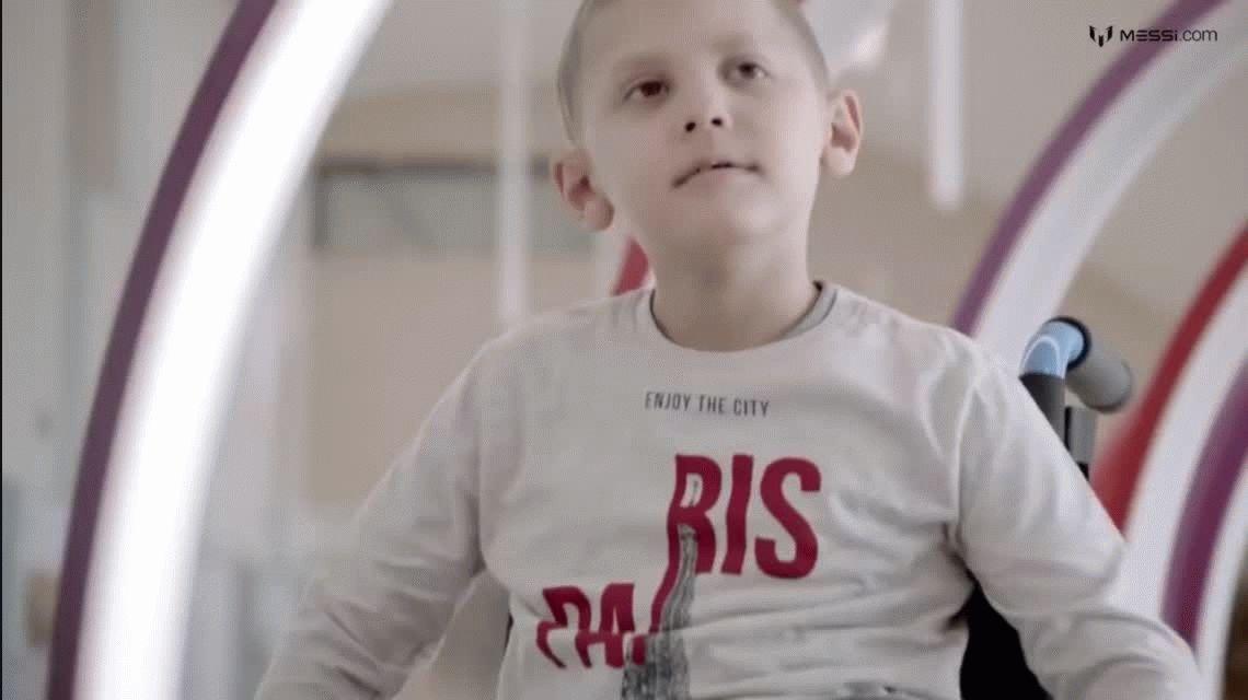 El mejor Messi: lanza una campaña de lucha contra el cáncer infantil