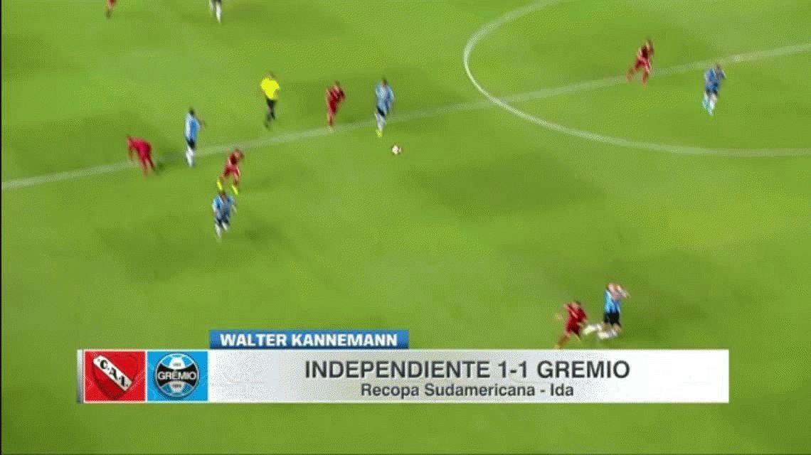 Kannemann contó cómo fue el codazo de Gigliotti y elogió a Independiente