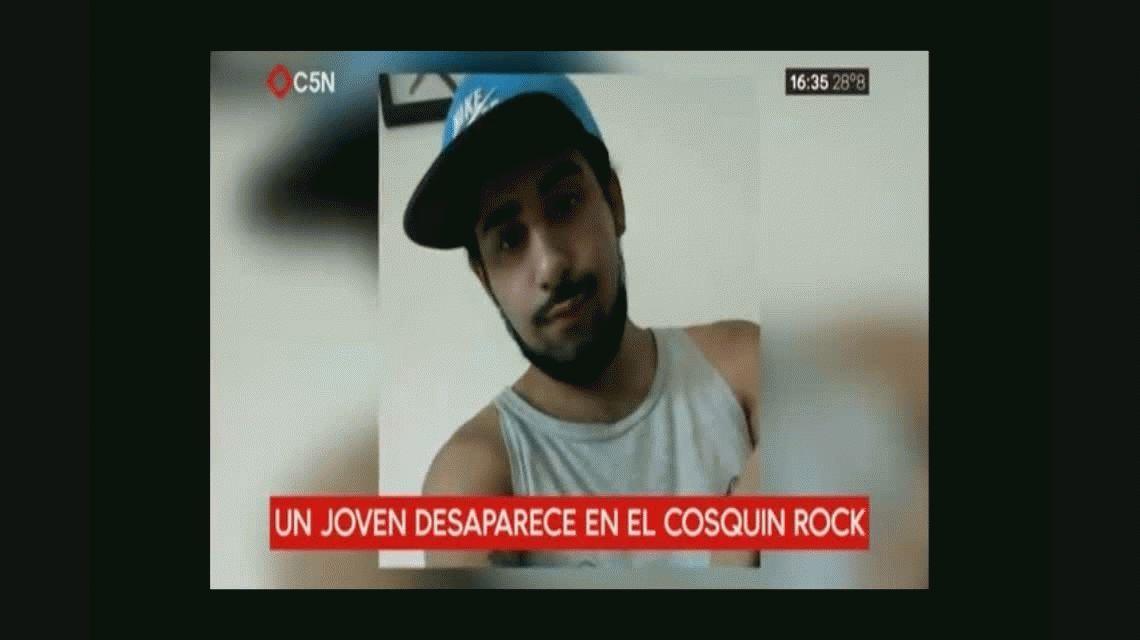 Buscan a un joven de 19 años que fue al Cosquín Rock y no volvió a su casa