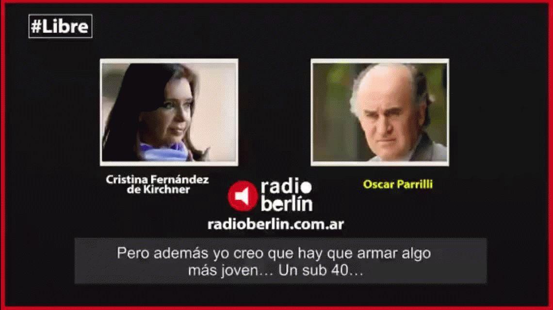 ¿Regalito? En el día de su cumpleaños revelaron nuevas escuchas de Cristina Kirchner con Parrilli