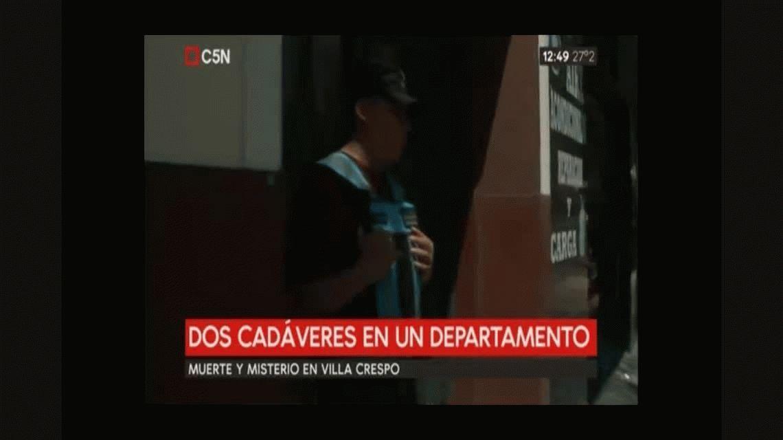 Misterio en Villa Crespo: hallaron los cadáveres de dos mujeres en un departamento