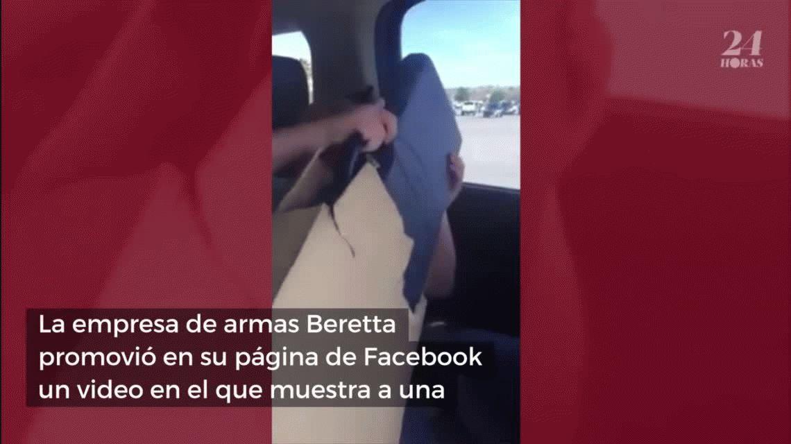 VIDEO: Una nena estalló de emoción cuando le regalaron su primera escopeta