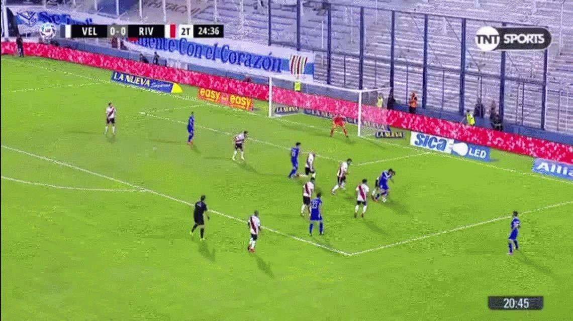 Sueño cumplido: el pibe de Vélez que es hincha de Boca y le hizo un gol a River