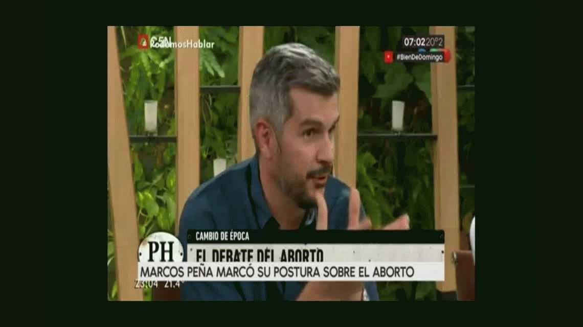 Marcos Peña habló del aborto, dijo que comprende la necesidad del debate y se manifestó en contra