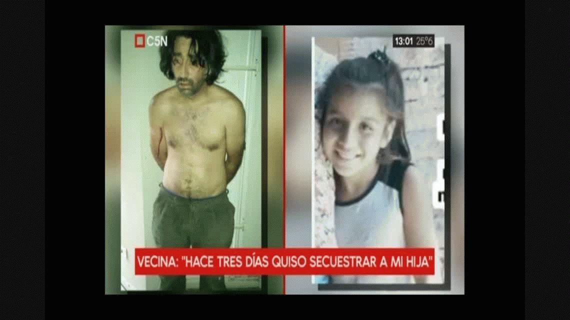 Varela intentó secuestrar a otra nena: La llamó para que vaya a su casa