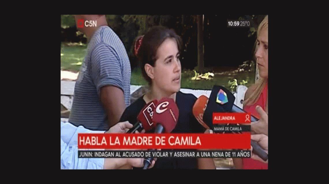 La sospecha de la madre de Camila: La dueña de la quinta sabía a quién metía acá