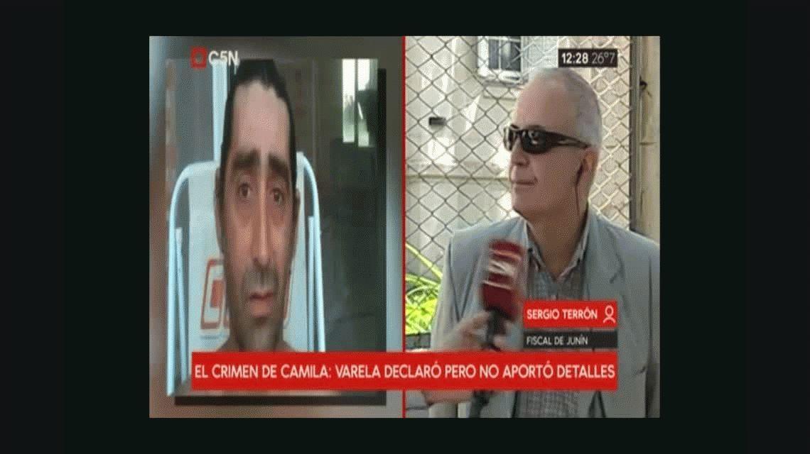 Crimen de Camila: Varela dijo ante la Justicia que no recuerda nada