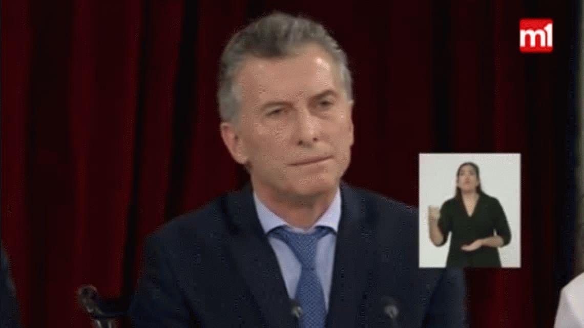 Macri: Si nada hubiese cambiado, estaríamos como un país hermano que está en desintegración social