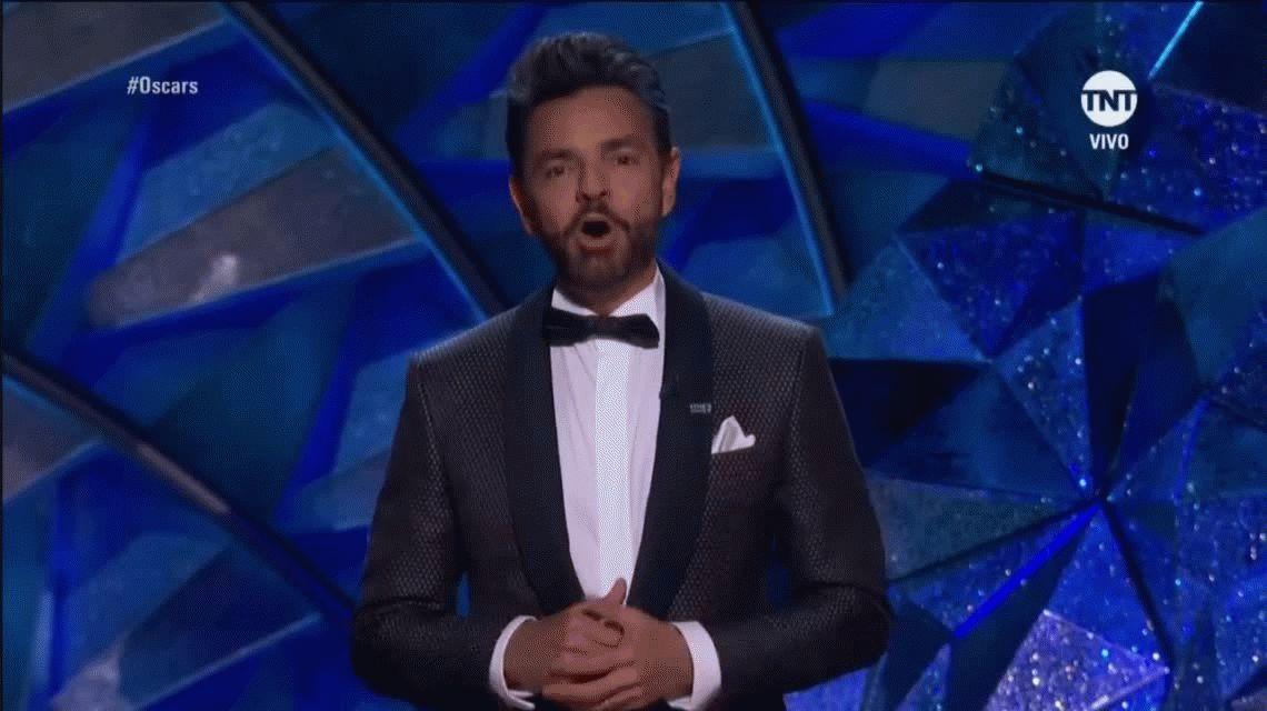 No es lo suyo: Gael García Bernal ladró la canción de Coco en la gala de los Oscar 2018