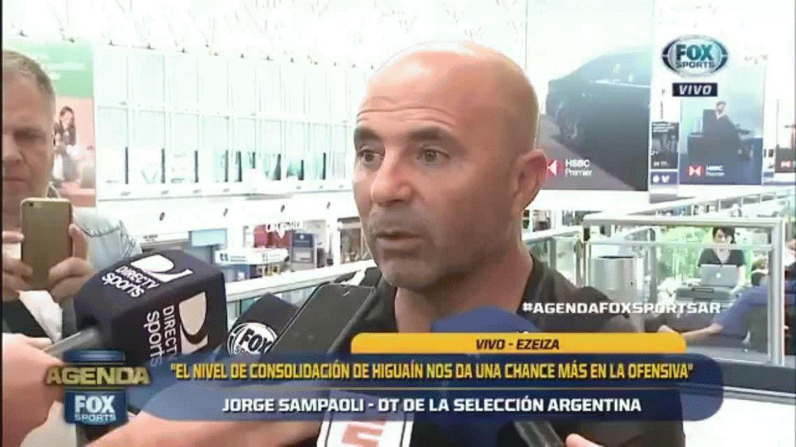 La banca más importante para Gago: Sampaoli lo va a esperar hasta último momento