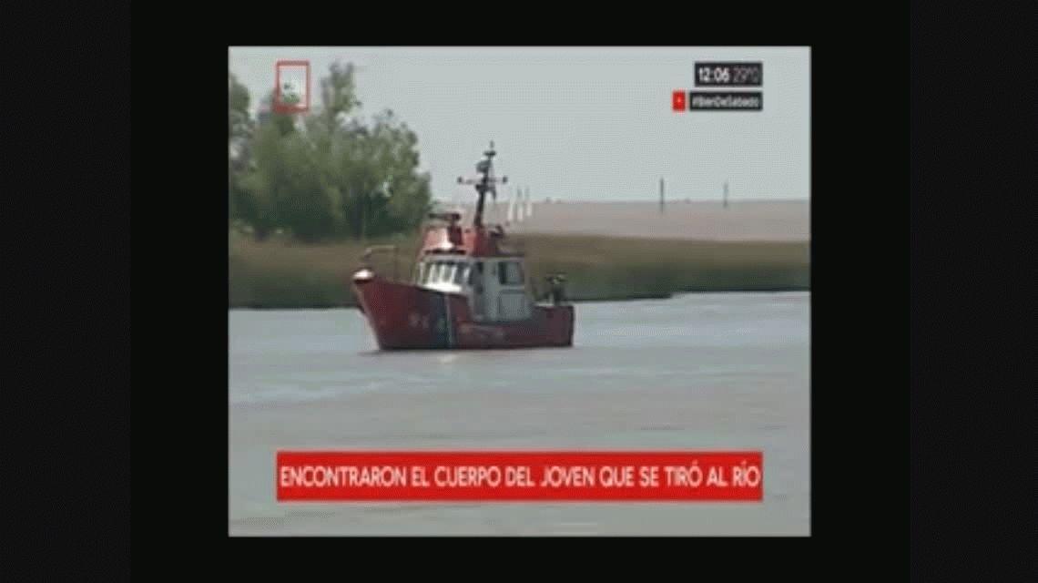 Río Luján: encontraron el cuerpo de David Peña, el joven que se tiró de una fiesta en un barco