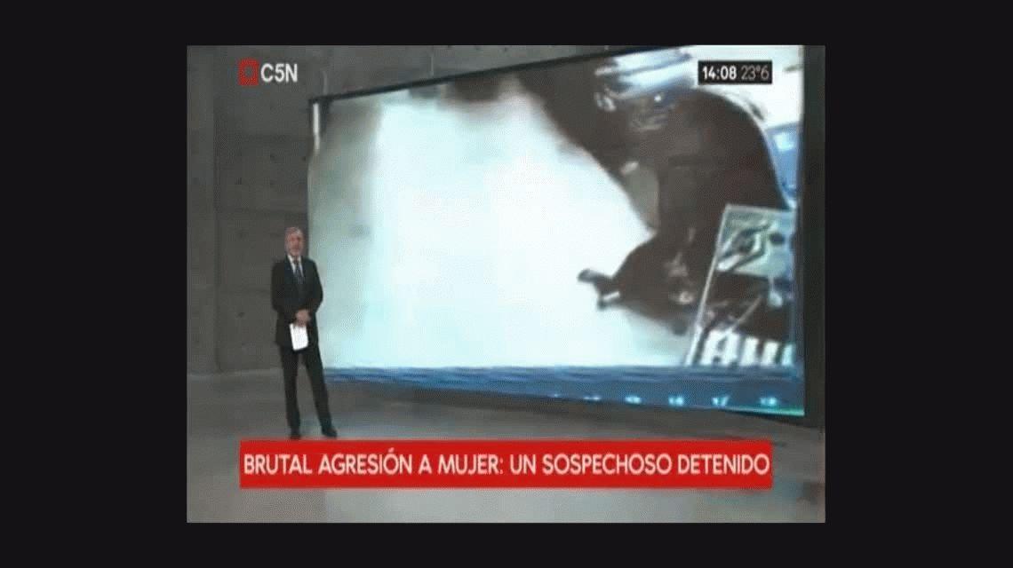La increíble repuesta que le dieron a la mujer golpeada en plena calle de Palermo