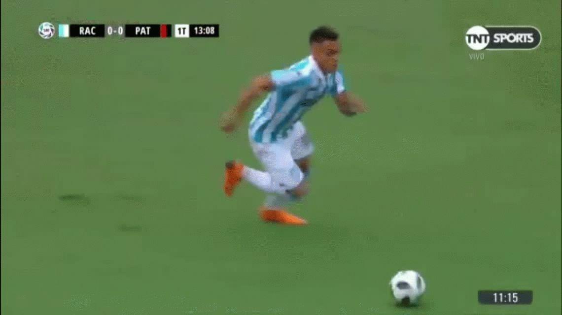 VIDEO: El tremendo caño Lautaro Martínez para seguir enloqueciendo a Sampaoli