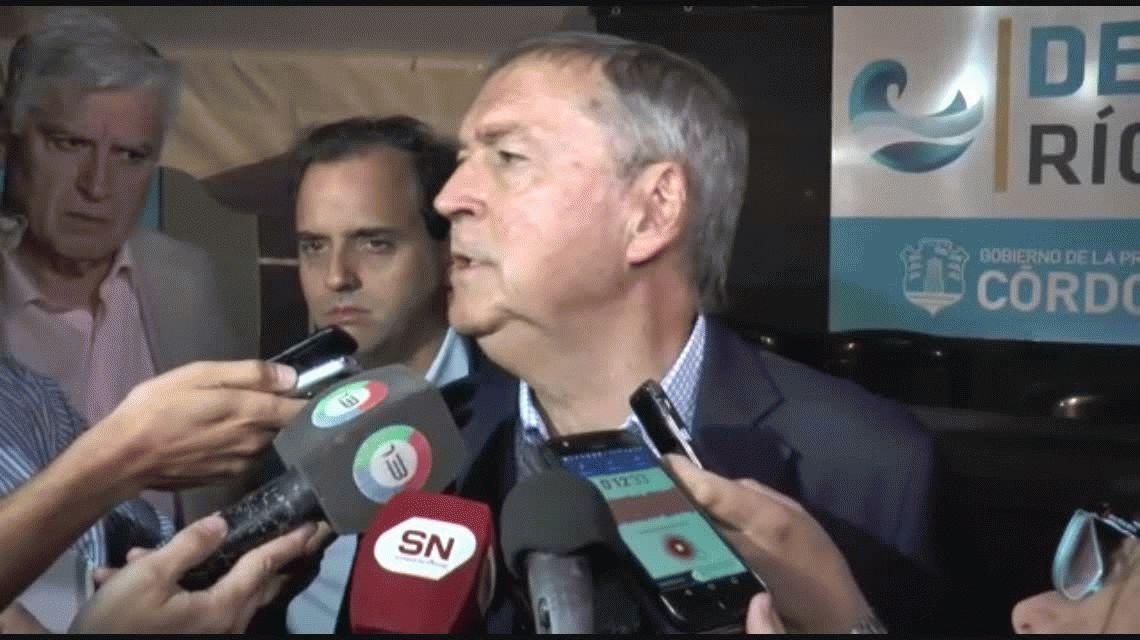 Schiaretti insiste: El peronismo tiene que dejar atrás al kirchernismo para ganar en 2019