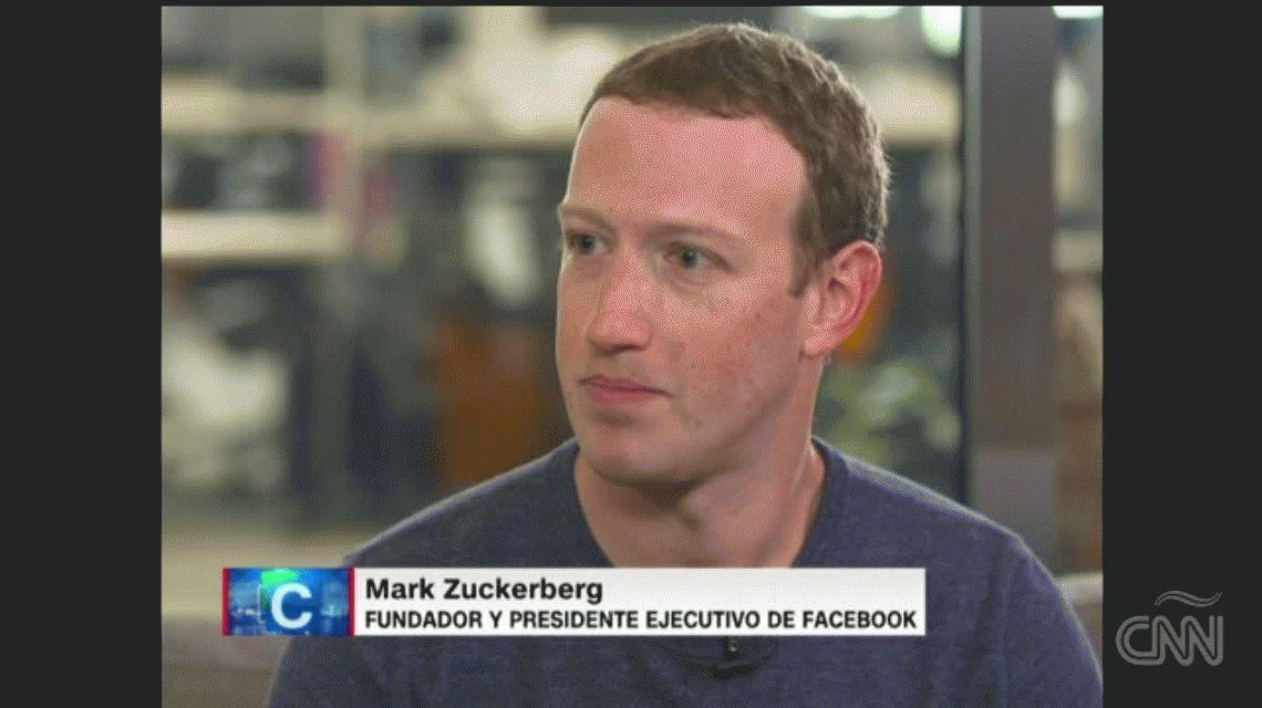 Zuckerberg reconoció que se violó la privacidad de los usuarios de Facebook: Todos los  afectados van a enterarse