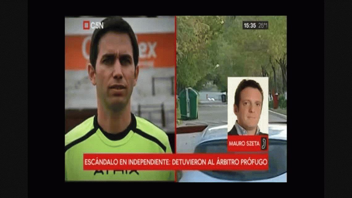 Abuso a juveniles de Independiente: detuvieron a Martín Bustos