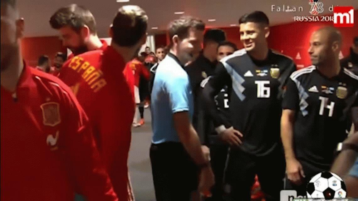 La confesión de Mascherano a los jugadores de España: Tengo tiempo para todo