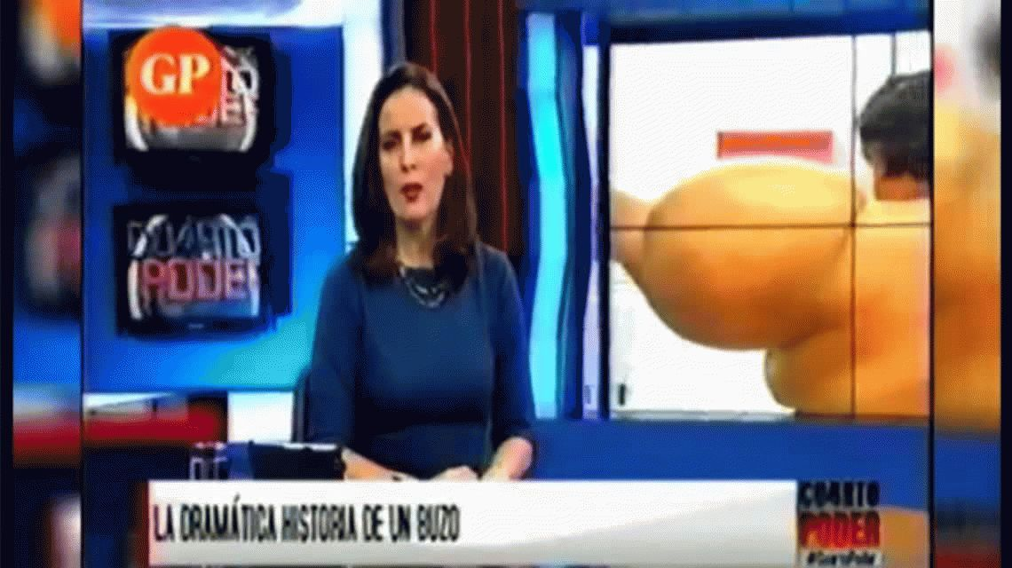 Un buzo peruano ascendió 36 metros de golpe y se deformó: así quedó su cuerpo
