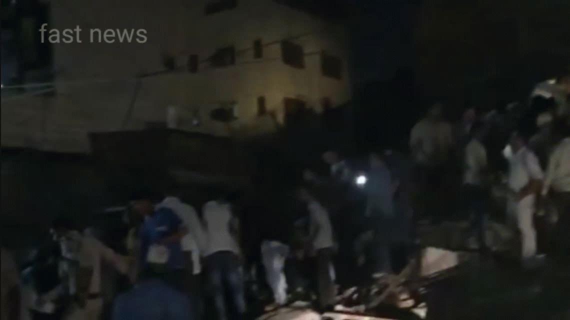 Al menos cinco muertos tras el derrumbe de un hotel en India