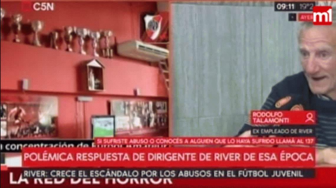 El ex encargado de la pensión de River negó las denuncias de abuso