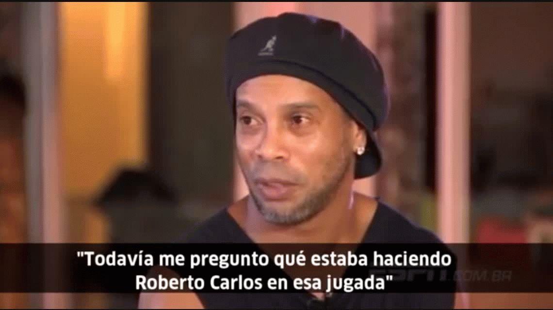 Ronaldinho culpó a un compañero por la eliminación de Brasil en Alemania 2006