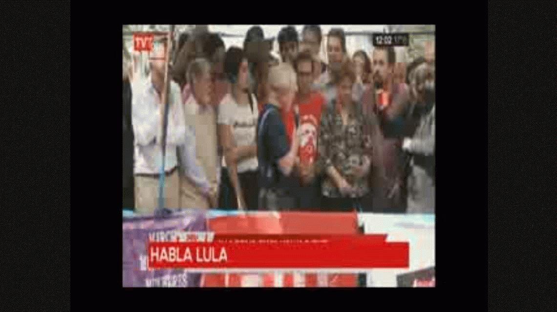 Lula llegó a Curitiba y quedó detenido en la Superintendencia Federal de la Policía