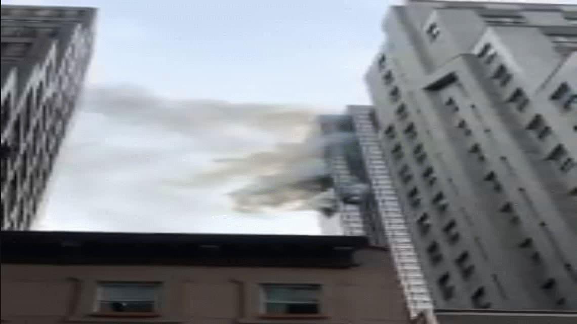 Incendio en la torre Trump de Nueva York: un muerto