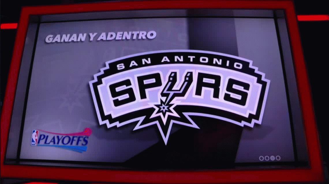 Ginóbili superó a Michael Jordan y San Antonio Spurs clasificó a los play offs