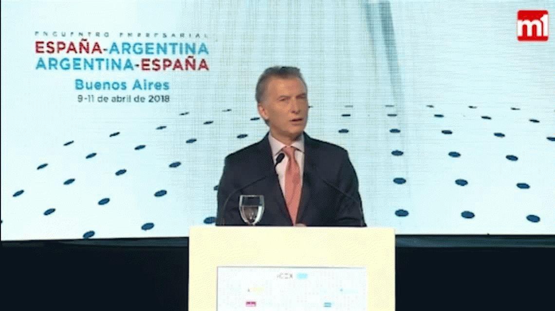 Mauricio Macri chicaneó a Mariano Rajoy con un chiste futbolero