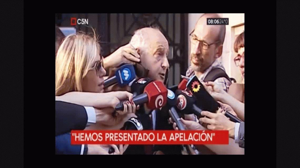 El PJ Nacional apeló la intervención