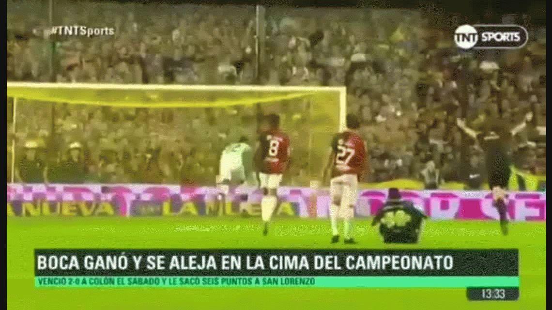 El video del que todos hablan: ¿el árbitro Beligoy festeja un gol de Boca?