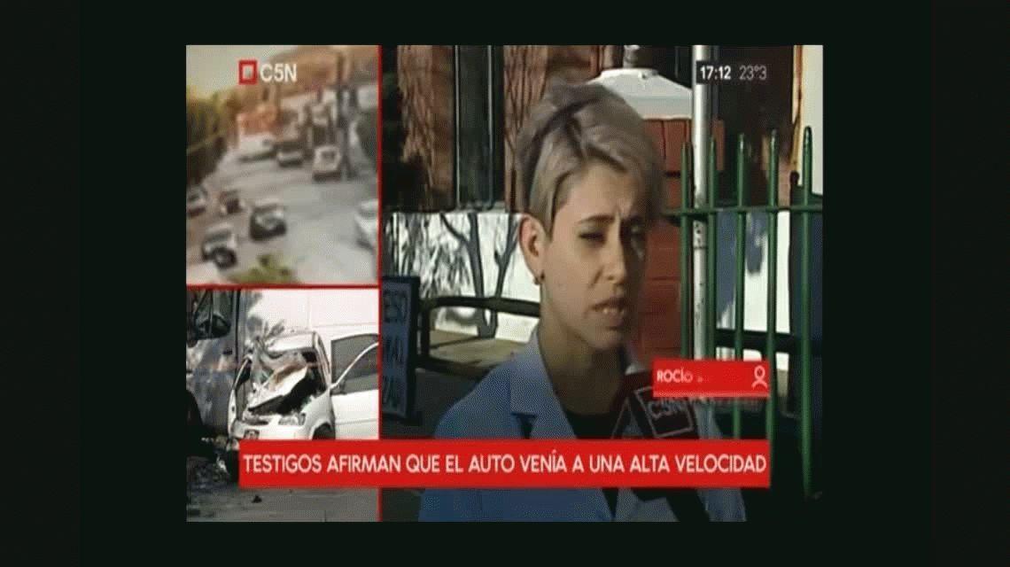 Choque fatal en Lanús: la joven de 25 años está en un coma inducido y pelea por su vida