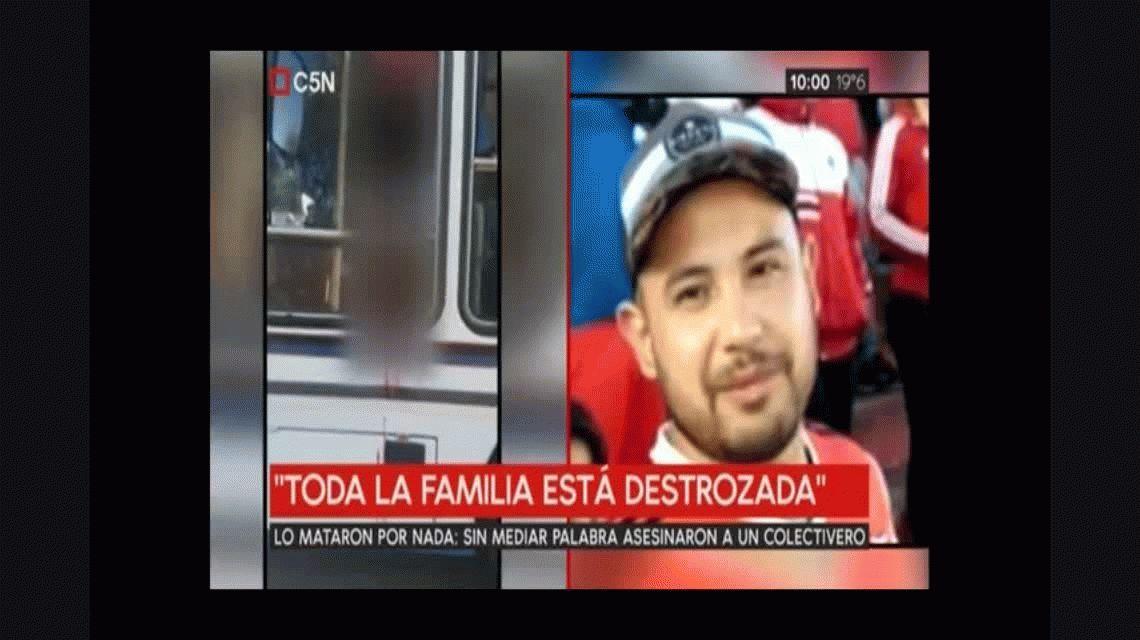 Quién era Leandro Alcaraz, el colectivero asesinado luego de una discusión por la Sube
