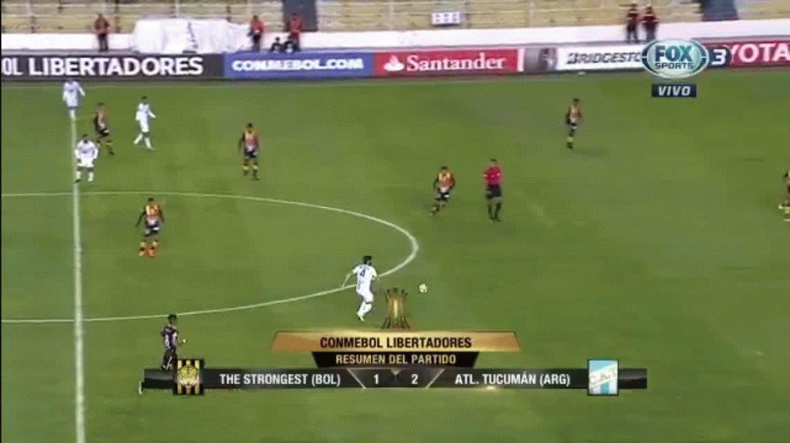 Triunfazo histórico de Atlético Tucumán: le ganó a The Stongest en la altura de La Paz