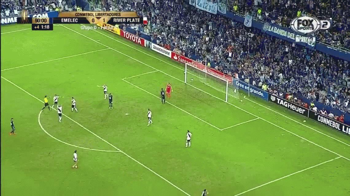 Franco Armani otra vez fue figura y pide Mundial partido a partido