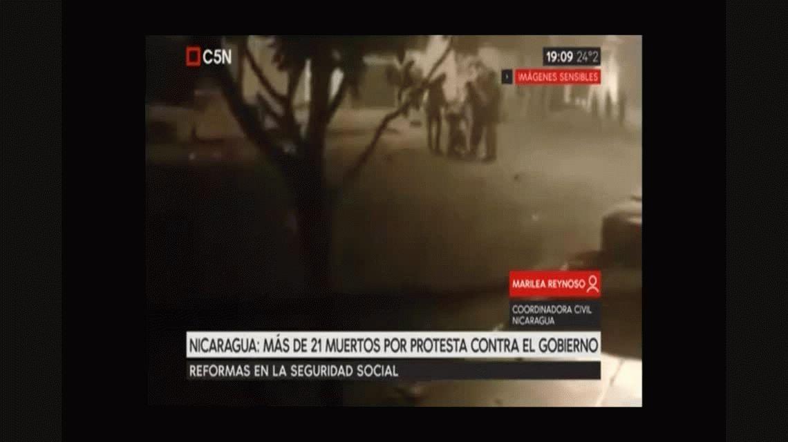 Al menos 21 muertos en Nicaragua por enfrentamientos entre estudiantes y Policía