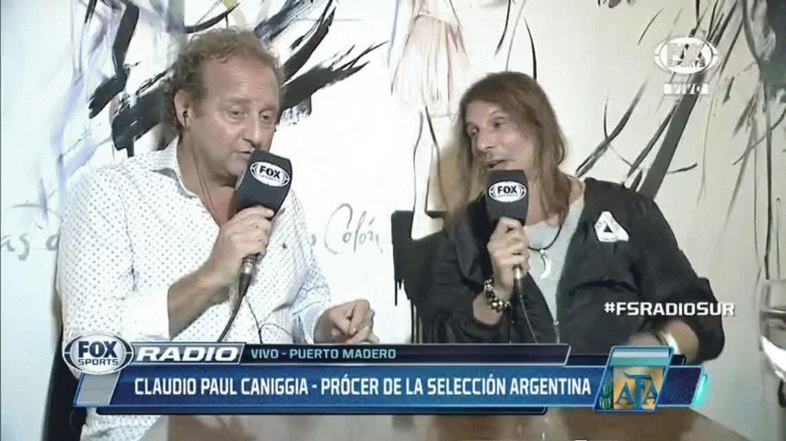 La increíble revelación de Caniggia: Bilardo quería que juegue el Mundial de 2010