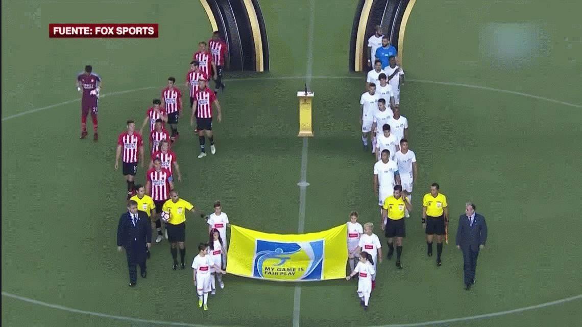 Estudiantes perdió con Santos y se complica su pase a octavos de final