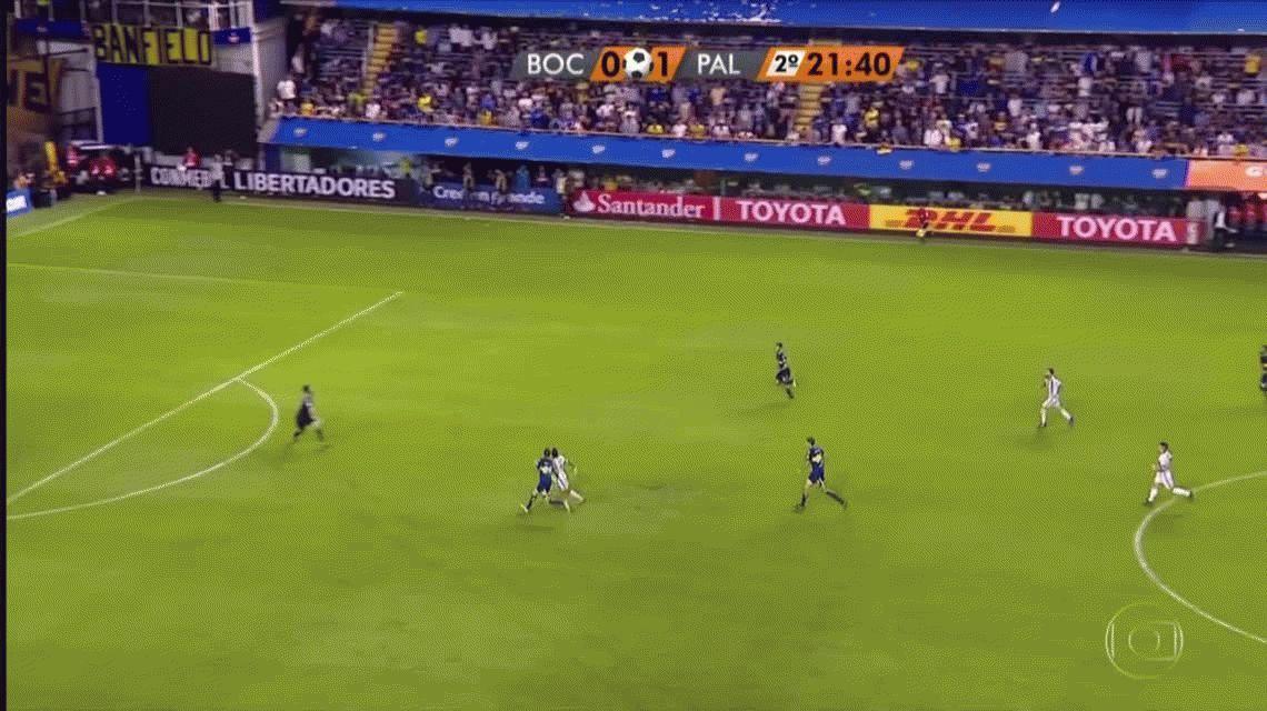 Palmeiras sorprendió a Boca, le ganó y le complicó la clasificación