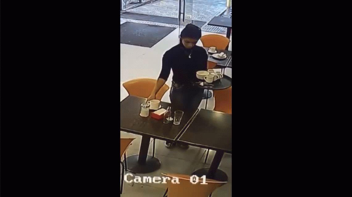 VIDEO: El misterioso caso del vaso que se movió solo en una estación de servicio