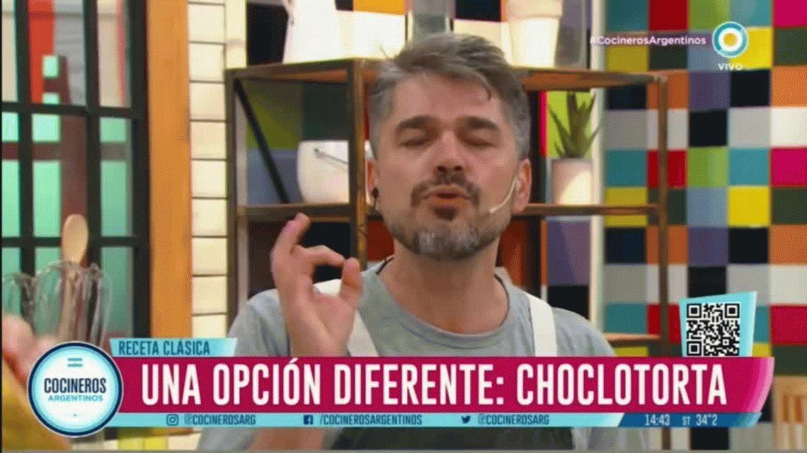 Choclotorta, la receta de Cocineros Argentinos que desató la furia en Paraguay