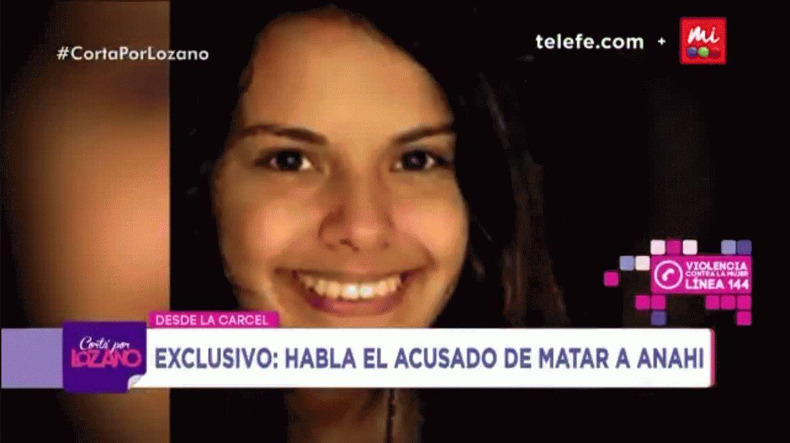 Habló por primera vez el acusado de asesinar a Anahí Benítez: Nunca la vi en mi vida