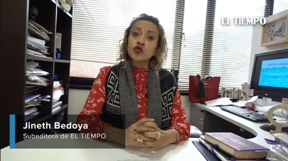 VIDEO: una estudiante colombiana grabó cómo la acosó uno de sus profesores