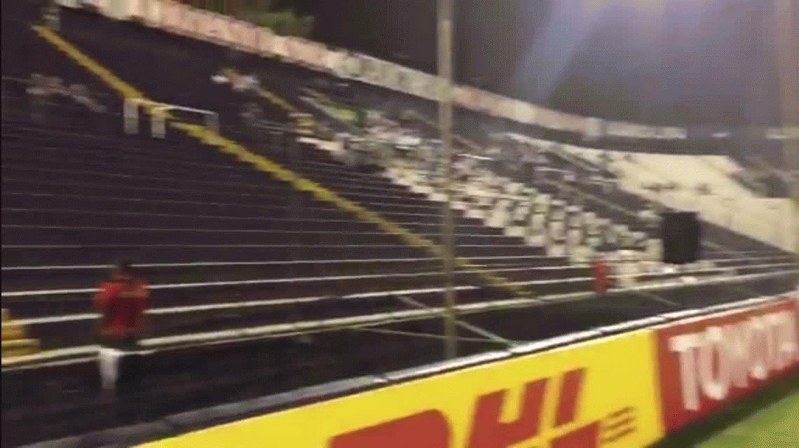 Copa Libertadores: Alianza Lima usa parlantes en la tribuna para sentirse alentado
