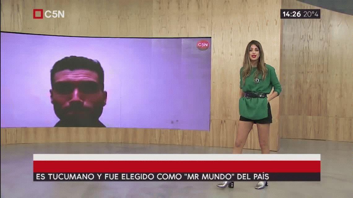 Un tucumano fue elegido como el hombre más lindo de Argentina