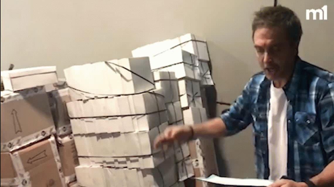 #NoMásPiesDescalzos: Justo Lamas recibió una donación grande de calzado