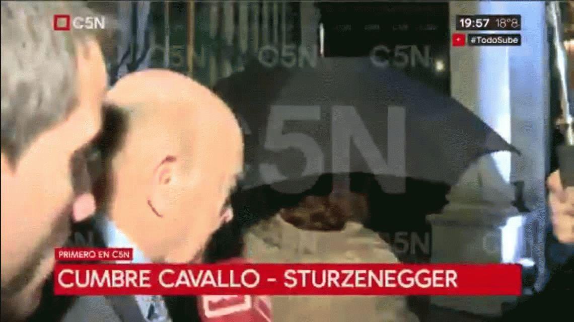En medio de la corrida bancaria, Federico Sturzenegger recibió a Domingo Cavallo en el Banco Central