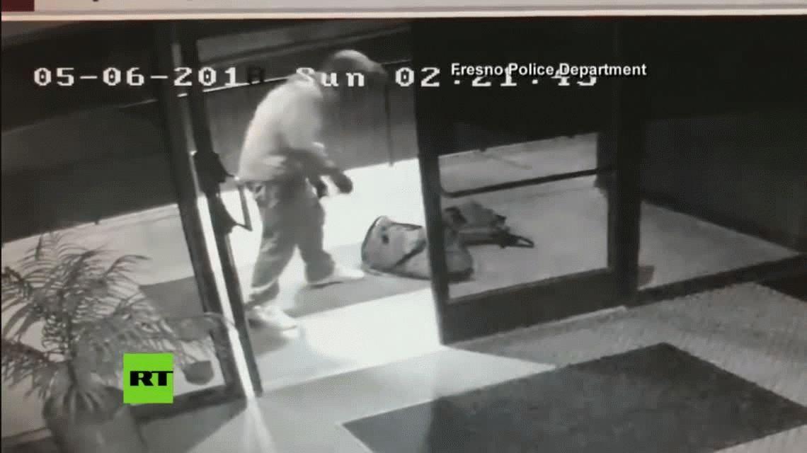 VIDEO: Robó en un departamento, lo festejó a lo Michael Jackson y terminó detenido