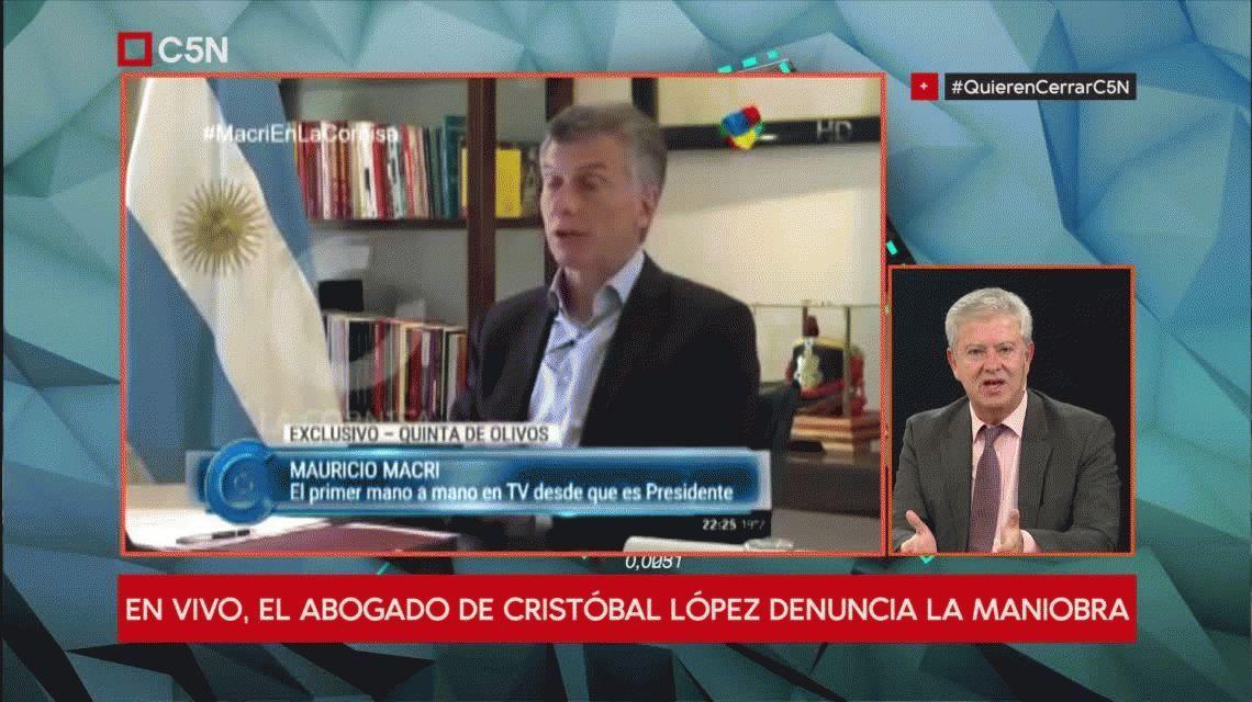 #QuierenCerrarC5N: Es una clara persecución contra el Grupo Indalo